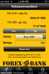 Forex valutakurs dollar