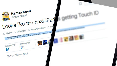 touch id ipad ios 8.1