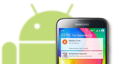 android l samsung galaxy s5