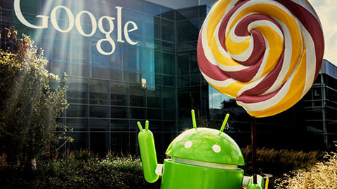 Google sl�pper Android 5.0.1