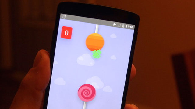 Flappy Droid Bird Android 5.0 Lollipop