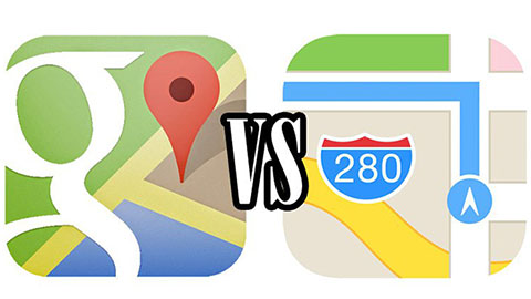 Google Maps vs Apple Kartor
