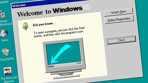 Windows 95 fyller 20 �r