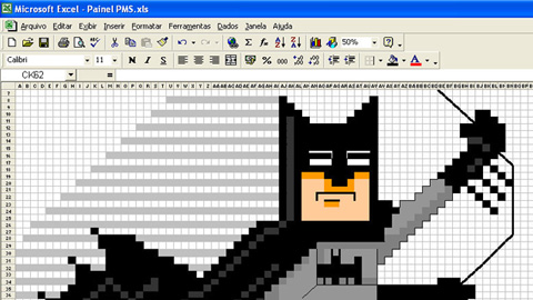 Batman Excel