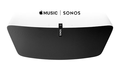Nu funkar Sonos med Apple Music