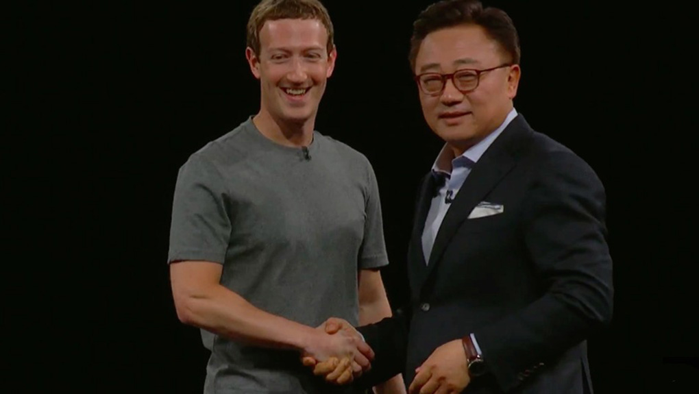 Mark Zuckerberg Samsung