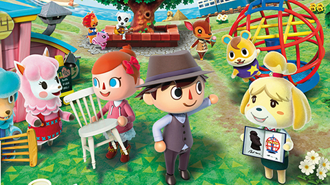 Animal Crossing New Leaf till Nintendo 3DS