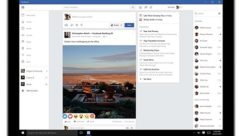 Facebook Windows 10 appar