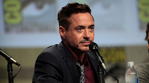 Robert Downey Jr på Comicon 2014