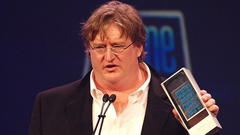 Gabe Newell på Game Developers Conference 2010